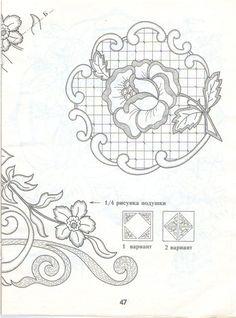 Gallery.ru / Фото #8 - PATTERNS - bird-of-heart Embroidery Patterns, Hand Embroidery, Quilt Patterns, Cake Templates, Parchment Cards, Cross Stitch Art, Satin Stitch, Tole Painting, Cutwork