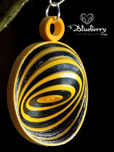 Spiral Quilling Earring