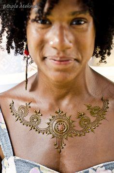 Henna Necklace | Flickr - Photo Sharing!