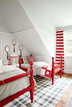 ...so fresh...and red and white... ♥