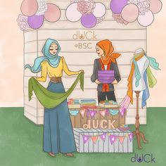 duckscarves illustration - Soefara