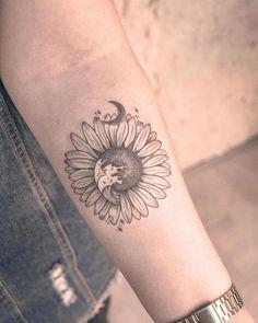 Tattoos for women arms design sunflower tattoo small Small Symbol Tattoos, Small Tattoos For Guys, Small Wrist Tattoos, Unique Tattoos, Cute Tattoos, Body Art Tattoos, Tribal Tattoos, Hand Tattoos, Sleeve Tattoos