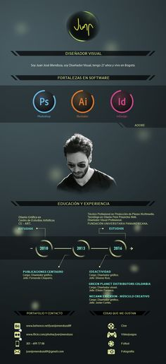 Cv Inspiration, Curriculum Vitae Resume, Infographic Resume, Cv Resume Template, Creative Resume, Web Layout, Graphic Design Art, Photoshop, Branding