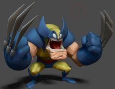 Wolverine - Concept by Jeff Agala, Diogo Reis on ArtStation at http://www.artstation.com/artwork/wolverine-concept-by-jeff-agala