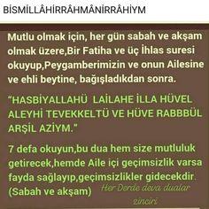 mucizevi dualar'in Instagram gönderisi • 27 Ara, 2018, 9:18ös UTC Prayers, Allah, Instagram Posts, Prayer, Beans