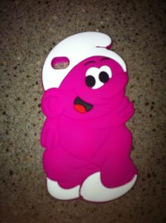 My naked smurf phone case!
