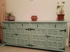 Mueble castellano restaurado y reciclado de muebles for Mueble castellano restaurado