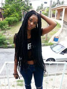 Crochet Braids Marley Hair Curls Havana Twists Protective Styles 66 Ideas For - Cheveux 2019 Box Braids Hairstyles, My Hairstyle, Girl Hairstyles, Straight Hairstyles, Hairstyles 2016, Marley Twist Hairstyles, Black Hairstyles, Protective Hairstyles, Long Marley Twists