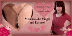 Mitsouko Jet Rapt In Maille Necklace