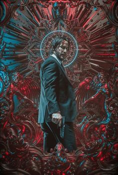 Billelis was approached by Lionsgate, LA Associates and the creative team of John Wick 3 to create official key artworkfor the launch of the latest Blockbuster instalment in the John Wick Franchise- John Wick 3 Parabellum.John Wick has become the target… Keanu Reeves John Wick, John Wick Film, John Wick 1, The Matrix, Kunst Poster, Poster Design, Alternative Movie Posters, Movie Poster Art, Fan Art