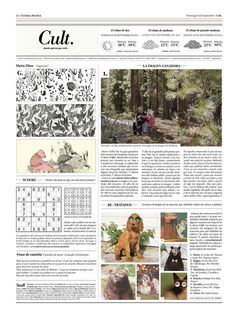 Cult. Periódico on Editorial Design Served
