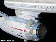 Star Trek: U.S.S. Star Trek Enterprise, Uss Enterprise Ncc 1701, Star Trek Starships, Star Trek Models, Sci Fi Models, Star Trek 1, Star Trek Ships, Vaisseau Star Trek, Trek Ideas