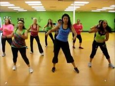 ▶ Zumba® Fitness with Jasmine: La cumbia Tribalera - YouTube
