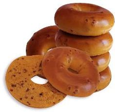 Always New York Bagels ~ French Toast Bagels, distributed by Soft Stuff Distributors New York Bagel, Bagels, Doughnut, French Toast, Bread, Desserts, Food, Tailgate Desserts, Deserts