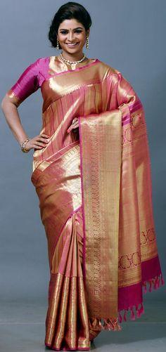 Shop Online pure kanchipuram vivaha bridal silk saree 2002