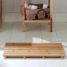 New-Stylish-Wooden-Slatted-Duck-Board-Rectangular-Bathroom-Bath-Shower-Mat