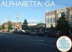 Alpharetta, GA: The 15th Safest City in Georgia