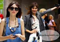 Top Celebrity Fashion Blogs to Get Hooked On - Alexa Chung  #celebrities