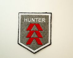 Destiny hunter logo aspect of blood destiny pinterest hunters blood