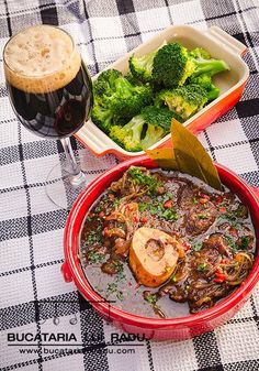 Dept of flavour, slow cooked shin of beef, smoked bacon, gentle spices and dark beer. All together in this carbonade flamande, a Belgian style beef stew. Dark Beer, Belgian Style, Smoked Bacon, Paella, Carne, Stew, Lamb, Slow Cooker, Spices
