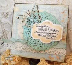 """Thanks to everyone who participated in the """"Torn or Distressed """" challenge last week! There were so many beautiful creations. We so en. Fancy Fold Cards, Folded Cards, Ecclesiastes 3, Shine The Light, Christian Cards, Daily Bread, Best Day Ever, Creative Cards, Handmade Cards"""