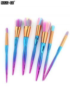 GET $50 NOW | Join RoseGal: Get YOUR $50 NOW!http://www.rosegal.com/makeup-brushes-tools/maange-7pcs-multicolor-hair-sunk-1169366.html?seid=9334283rg1169366