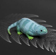 Доп. Питомец Сайко: синяя ящерица Аня