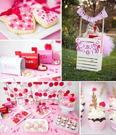 Heart Valentine's Day Party with Such Darling Ideas via Kara's Party Ideas Valentines Day Birthday, Valentine Theme, Valentines Day Treats, Valentines Day Decorations, Valentine Day Crafts, Love Valentines, First Birthday Parties, Birthday Party Themes, First Birthdays
