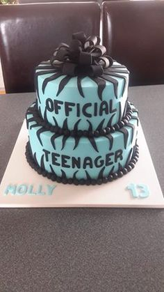 Official Teenager Cake Homemade By Hollie