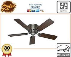 Reversible Wood Cooler Whisperwind Antique Style 5 Blades Ceiling 52 Living Room #ReversibleEcoCooler #Modern