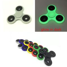 6 Colors Tri-Spinner Fidget Toy Plastic EDC Hand Spinner For Autism and ADHD Anxiety Stress Relief Focus Toys Kids Gift-https://goo.gl/zatske  #awesomesauce