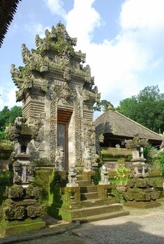 Balinese traditional village, Penglipuran, Bangli, Bali, Indonesia
