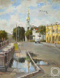 Галимов Азат. Никольский собор. После вчерашнего дождя