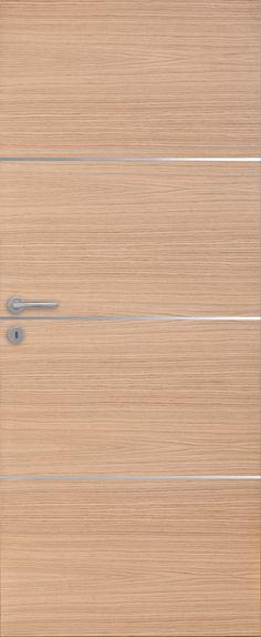 porte int rieure contemporaine ch ne mix d co insert weng pastel blanc mat portes bois. Black Bedroom Furniture Sets. Home Design Ideas