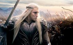 lee pace as thranduil in hobbit 3