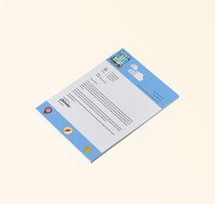 Letterhead design.