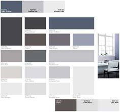 Gray and brown color schemes for modern interior decorating 2013.