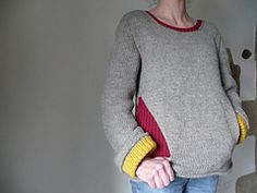 Ravelry: Mon Drian pullover pattern by Stephanie Roul