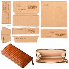 Leather Bag Tutorial, Leather Wallet Pattern, Small Leather Wallet, Handmade Leather Wallet, Leather Gifts, Leather Craft Tools, Leather Projects, Handmade Wallets, Leather Accessories