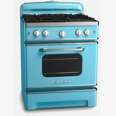 Our new Big Chill stove combines the iconic look of a 50's style retro range with all the modern amenities of a modern unit.