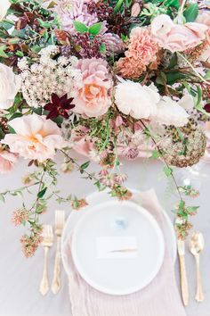 Ethereal Wedding Inspiration with Vintage Accents ⋆ Ruffled Ethereal Wedding Inspiration with Vintage Accents ⋆ Ruffled,FLOWER IDEAS Ethereal wedding table setting with floral centerpiece Related ideas about Crazy Girlfriend Meme. Wedding Table Centerpieces, Wedding Flower Arrangements, Wedding Reception Decorations, Floral Centerpieces, Centerpiece Ideas, Graduation Centerpiece, Quinceanera Centerpieces, Candle Centerpieces, Wedding Tables