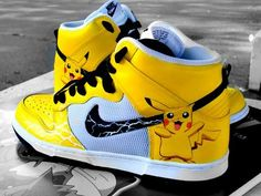 best sneakers fabe7 7936c Pokemon Shoes Design Your Own Sneakers, Nike Free Runs, Red Shoes, Nike Free