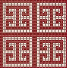Bisazza Melbourne- Opus Romano Key Red