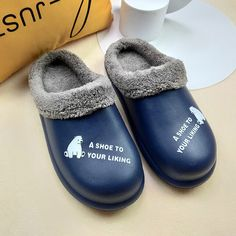 Bear Life Furry Inside Casual Unisex Garden Home Unisex Slippers | 4Colordress