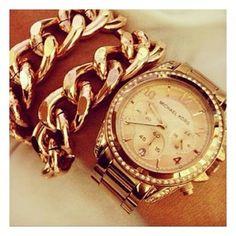 Gold watch  @mariaandamelia's Instagram photos   Webstagram - the best Instagram viewer