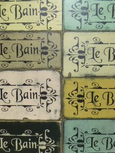 CUSTOM SIGN ORDER / Custom le Bain sign for JaquelinT Pale pink le Bain sign as shown with dark brown lettering. Will ship 3-4 weeks from payment date. Tracking info will be sent once shipped. ************************************************************************************ SHABBY LE BAIN sign / French Bath La Toilette sign / French Le Bain sign / Bathroom decor sign / in French / French chic le bain / toilette THIS LISTING IS FOR ONE HAND PAI...