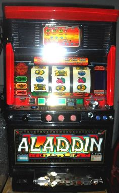 PACHISLO ALADDIN ACE SLOT MACHINE / 200 TOKENS / 285 PG MANUAL | Collectibles, Casino, Slots | eBay!