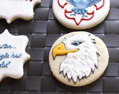 The Eagle Has Landed- Eagle Scout Cookies - Eat, Think & Be Merry