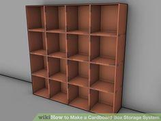 Image titled Make a Cardboard Box Storage System Step 2Bullet3
