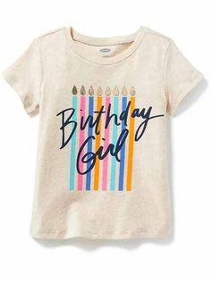 Toddler Girls Clothes: Graphic Tees | Old Navy